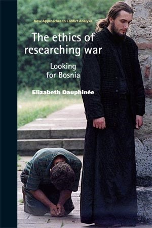 Cover The ethics of researching war