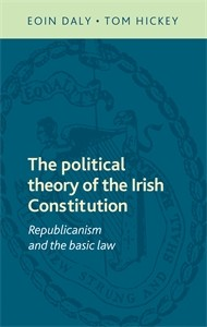 Cover The political theory of the Irish Constitution