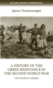Cover A history of the Greek resistance in the Second World War