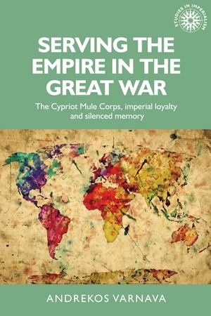 Cover Serving the empire in the Great War