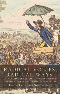 Cover Radical voices, radical ways