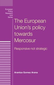 Cover The European Union's policy towards Mercosur: