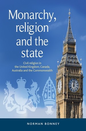 Cover Monarchy, religion and the state