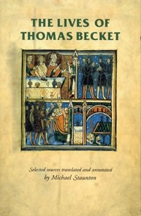 Cover The lives of Thomas Becket