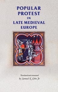 Cover Popular protest in late-medieval Europe