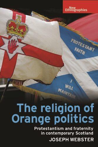 Orange Order Boyne Standard Flag Double Sided Key Ring Chain