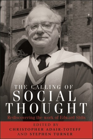 Cover The calling of social thought