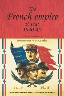 Cover The French empire at war 1940–45