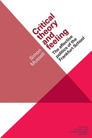 Cover Critical theory and feeling
