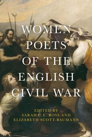 Women poets of the English Civil War