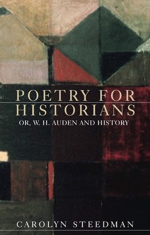 Cover Poetry for historians