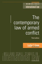 The contemporary law of armed conflict