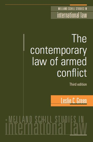 Cover The contemporary law of armed conflict