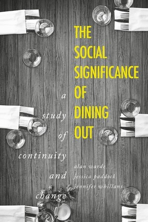 Cover The social significance of dining out