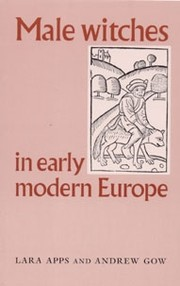 Cover Male witches in early modern Europe