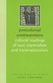 Cover Postcolonial contraventions