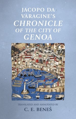 Cover Jacopo Da Varagine's Chronicle of the city of Genoa