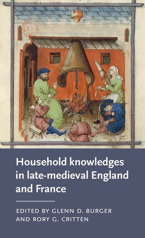 Cover Household knowledges in late-medieval England and France