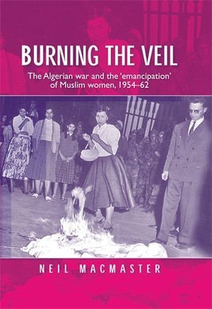 Cover Burning the veil