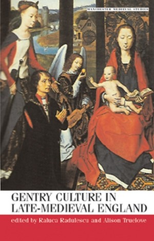 Cover Gentry culture in late-medieval England