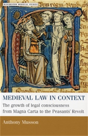 Cover Medieval law in context
