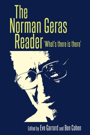 Cover The Norman Geras Reader