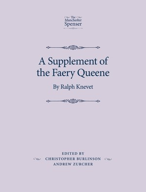 Cover A Supplement of the Faery Queene