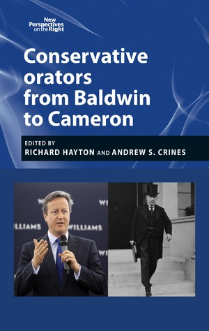 Cover Conservative orators from Baldwin to Cameron