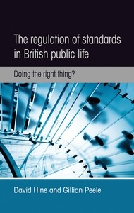 Cover The regulation of standards in British public life