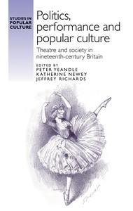 Cover Politics, performance and popular culture