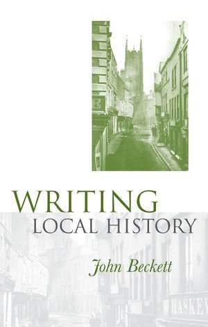 Cover Writing local history