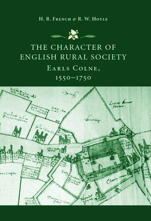 Cover The character of English rural society