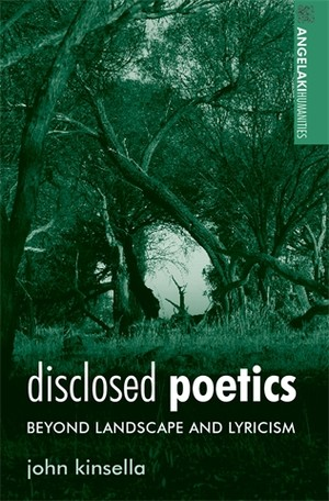 Cover Disclosed poetics
