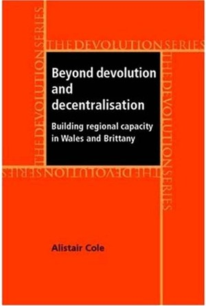 Cover Beyond devolution and decentralisation