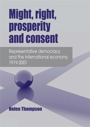 Cover Might, right, prosperity and consent