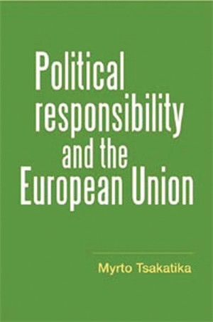 Cover Political responsibility and the European Union
