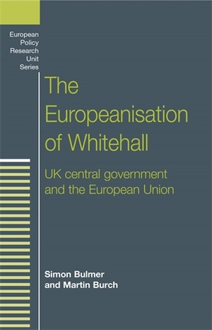 Cover The Europeanisation of Whitehall
