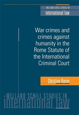 Cover War crimes and crimes against humanity in the Rome Statute of the International Criminal Court