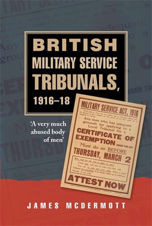 Cover British Military Service Tribunals, 1916–1918