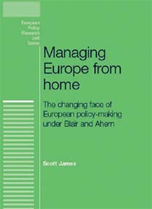 Cover Managing Europe from home