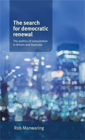 Cover The search for democratic renewal