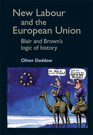 Cover New Labour and the European Union