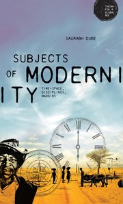 Cover Subjects of modernity