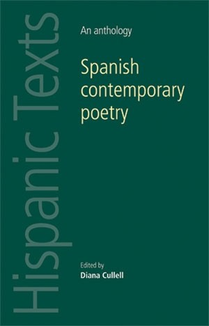 Cover Spanish contemporary poetry