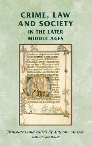 Cover Crime, Law and Society in the Later Middle Ages