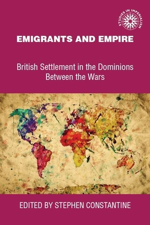 Cover Emigrants and empire