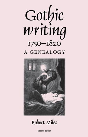 Cover Gothic writing 1750–1820