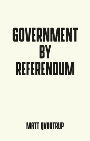 Cover Government by referendum