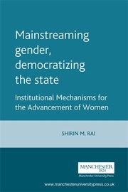Cover Mainstreaming gender, democratizing the state?