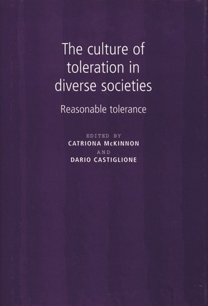 Cover The culture of toleration in diverse societies
